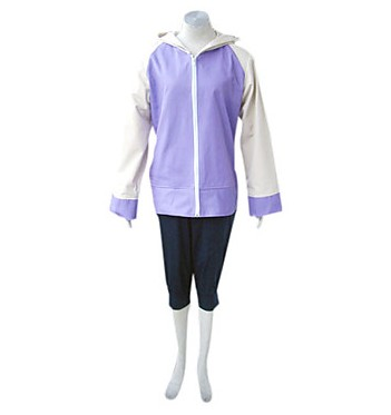Japanese Anime Cosplay NARUTO Shippuden Hinata Hyuga Cosplay Costume Hoodie Tops Sport Suit for Girl