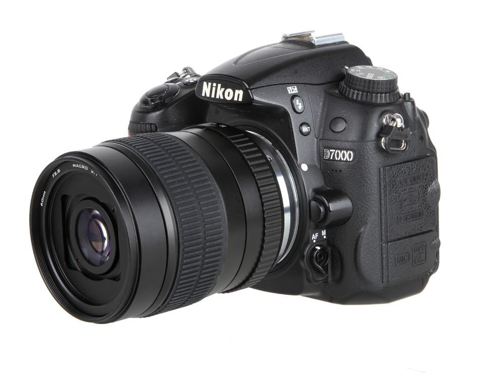 60mm f/2.8 2:1 Super Macro Manual Focus Lens for Nikon F Mount D70 D50 D30 D800 D700 DSLR 8