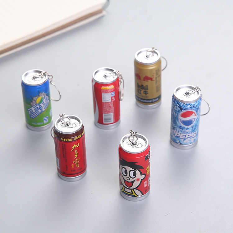 1 peças de Papelaria Caneta Esferográfica Caneta Retrátil Caneta Esferográfica Latas de Bebida Cola YZB019G Fabricantes de Borracha Do Telefone Móvel Por Atacado