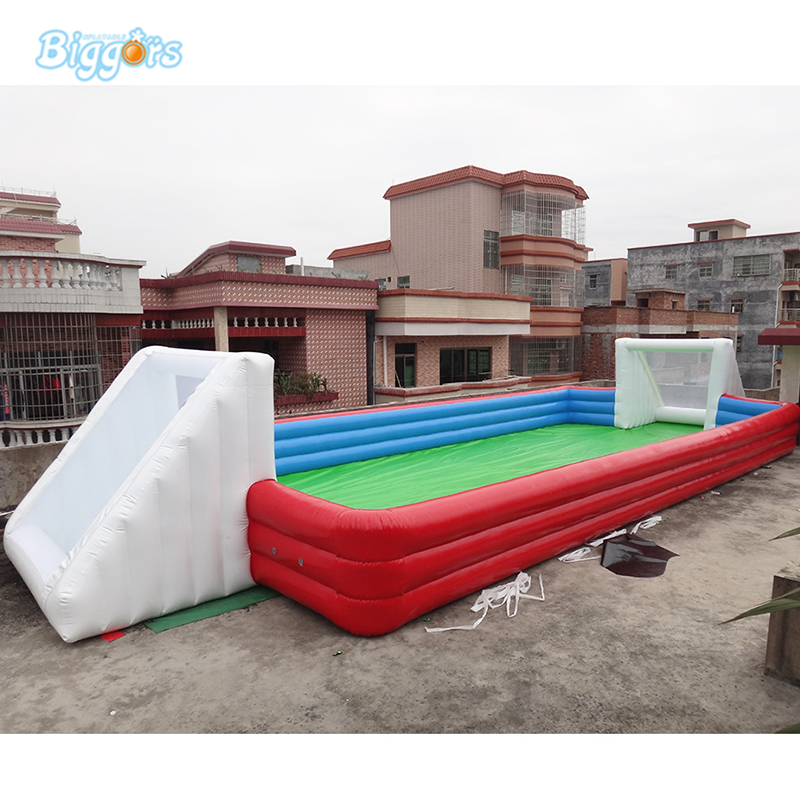 2018 Inflatable human football pitch Inflatable table football Game soap football Game