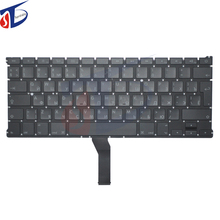 "5pcs/lot A1369 A1466 original russia keyboard for macbook air 13"" A1369 A1466 RU Russian keyboard clavier without backlight"