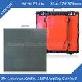 96 * 96 пикселей 576 * 576 мм Die пазлы-литой алюминиевый водонепроницаемый RGB 3in1 SMD полноцветный P6 из светодиодов экран