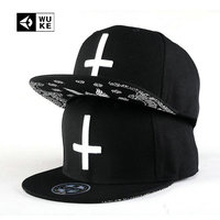 New Arrival Cross Baseball Caps For Man And Woman Flat Brimmed Sports Hip Hop Snap Back