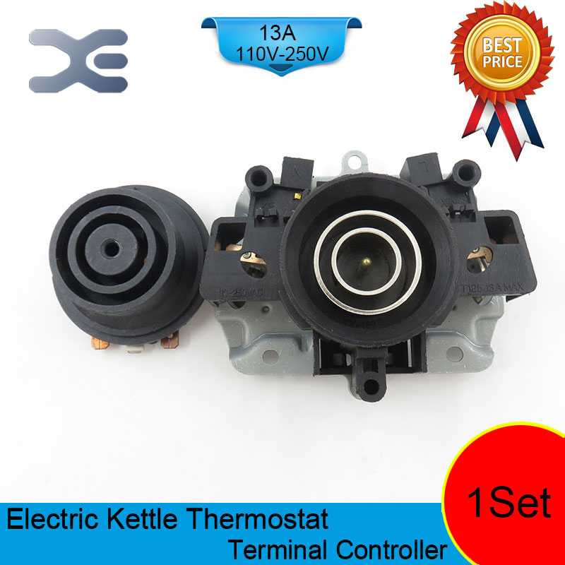 T125 13A 110-250V NC Terminal Controller New Kettle Thermostat Unused Spare Parts For Electric Kettle EK1702