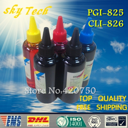 ФОТО Dye Refill ink , replacement ink Suit for PGI825 CLI826 cartridges, suit for Canon MG5280/5180/6180/8180/IP4880/MX888/IX6580