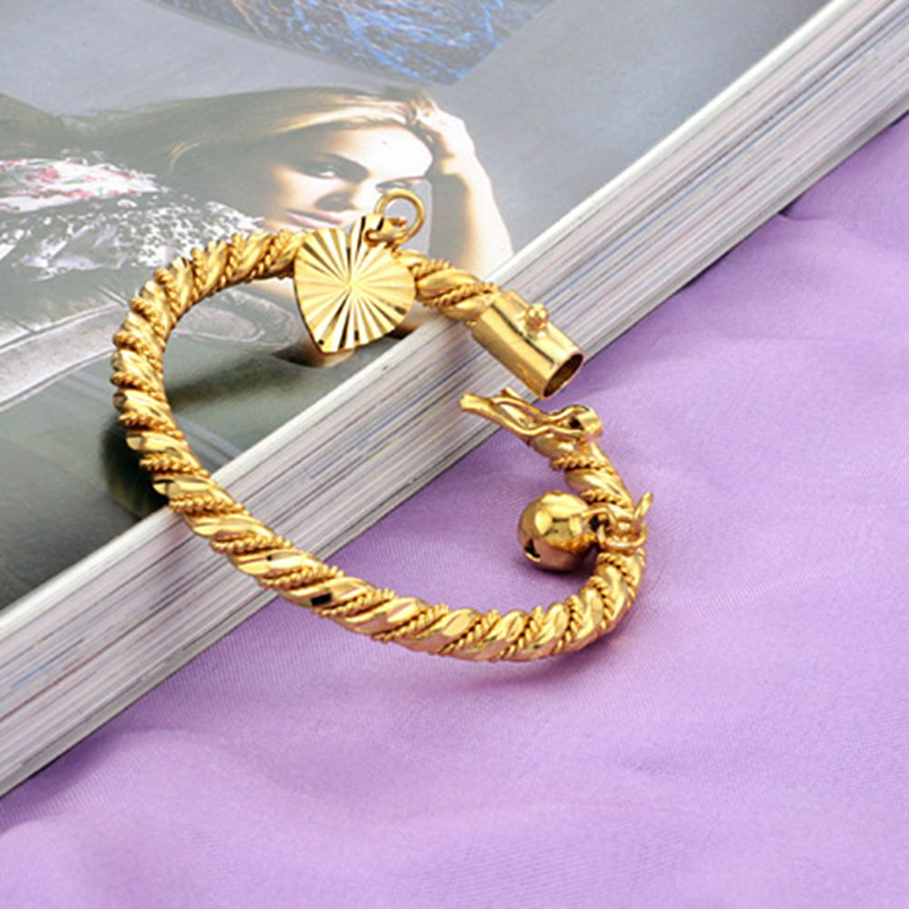 adjustable girls plated fashion baby classic infant for bracelet style newborn bangles color bangle gift jewelry lucky in tengyi from gold item