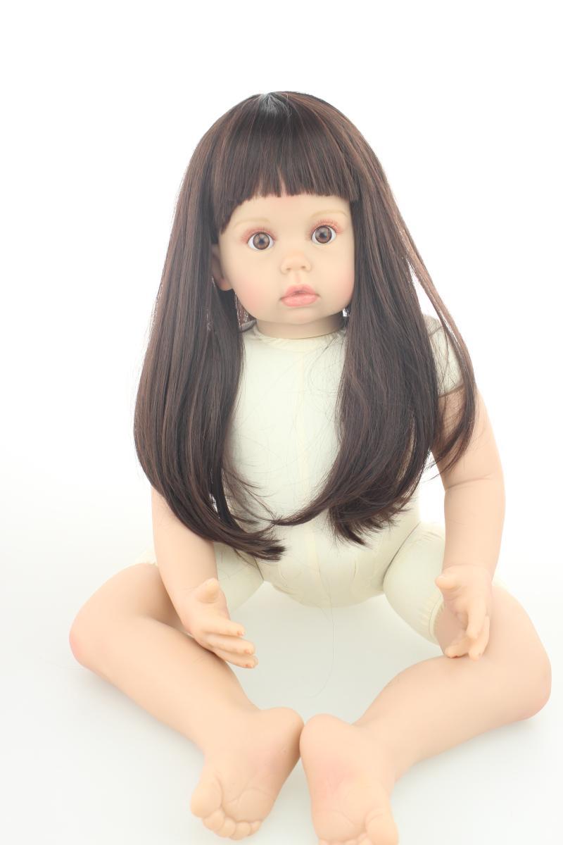 29inches Big Girl Reborn Silicone Reborn Dolls Girl Alive