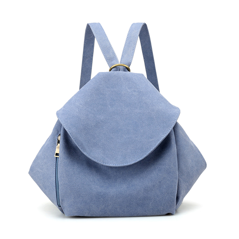New Summer Canvas Women Backpack Shoulder Bag Casual Girl Daypacks Small Travel Back Bags Preppy Style Small Book Schoolbag fashion denim backpack preppy style casual shoulders double shoulder bag schoolbag style blue x 59966