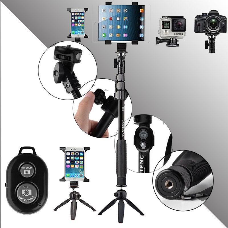 Caméra d'origine déclencheur à distance Bluetooth YUNTENG Monopod - Caméra et photo - Photo 1