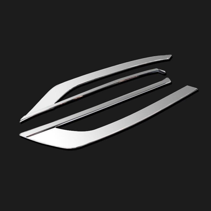 Декоративная рамка для передней противотуманной фары для Volvo S90-18, автомобильный противотуманный светильник, декоративные полосы, модифицированные внешние аксессуары