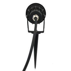 Image 2 - Наружные светодиодсветодиодный фонари для газона, 10 шт, водонепроницаемый COB садовый светильник, 220 в, 110 в, 12 в, 3 вт, 5 вт, 7 вт, 9 вт, шипы, освещение IP65 для дорожек пруда