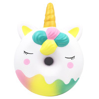 2019 Hot sale dorable Squishies Kawaii Jumbo Doughnut Slow Rising Cream Scented Stress Relief Toy 6.10