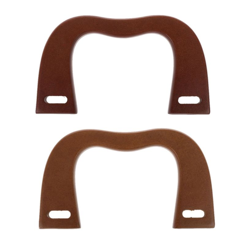 Trustful Noenname_null High Quality Wooden Handle Replacement Diy Handbag Purse Frame Bag Accessories Luggage & Bags