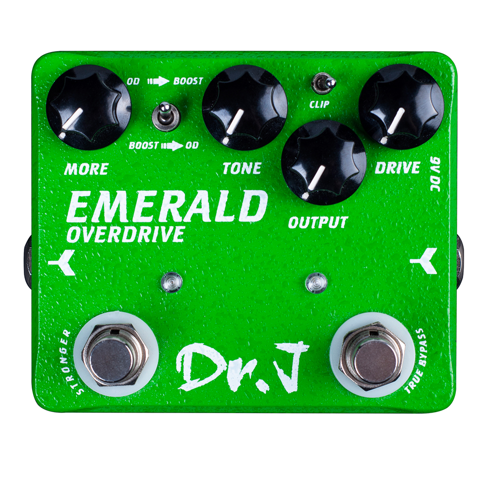Dr. J EMERALD Analog Overdrive Electric Guitar Accessories Effect Pedal Efeito True Bypass JOYO D-60 joyo jf 01 true bypass design vintage overdrive electric guitar effect pedal
