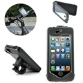 Motorcycle Bike Bicycle Waterproof HandleBar Holder Stand Phone Case For iPhone 6 6s 4.7 Inch Mobile Phone Mount Cover Shell