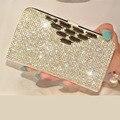 Bling диаманта Rhinestone ИСКУССТВЕННАЯ Кожа Флип Стенд Чехол для Sony Xperia Z3/Z3 Mini/Z4/Z4 мини/Z5/Z5mini/Z5 plus с слот для карт