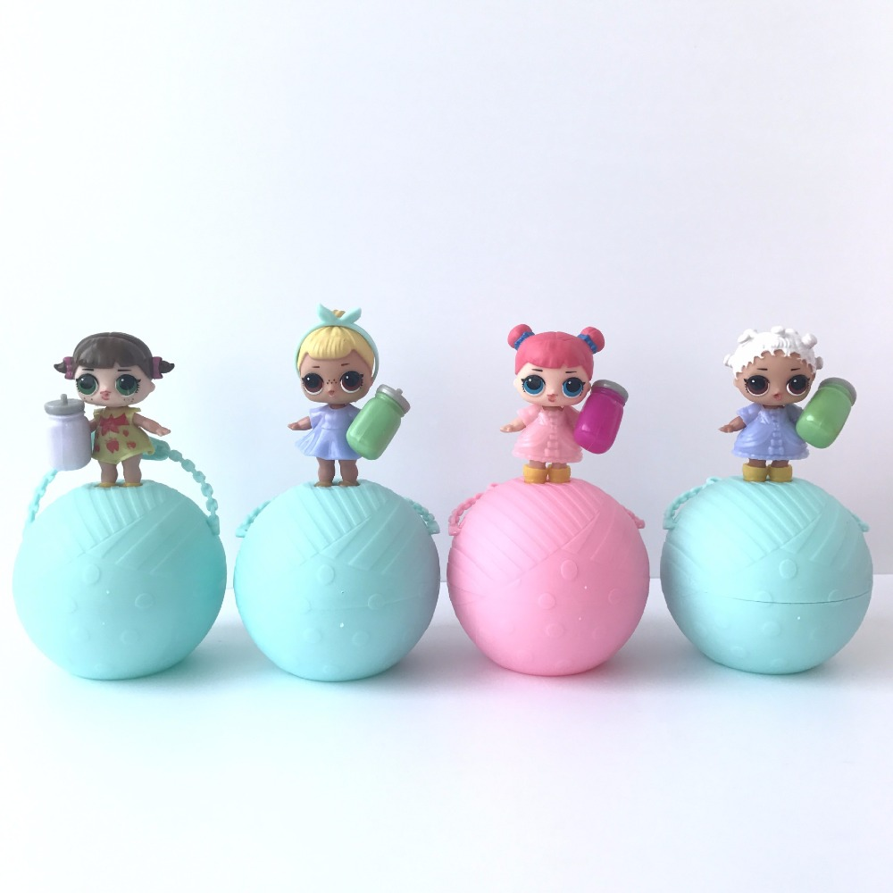 2017 HOT Girls Favorite Toys lol surprise Doll Water Spray Color Change Egg Ball Action Figures Dolls lol Ball Toys for Children 12pcs set children kids toys gift mini figures toys little pet animal cat dog lps action figures