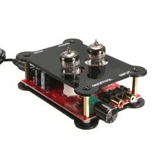 HiFi Tube Stereo font b Audio b font Headphone Amp Amplifier Preamplifier Pre Amp J0X2 New