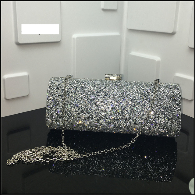 d931158c0122 2018 Women clutch bags female Evening bag Diamond Rhinestone Clutches  Crystal Wallet Wedding Purse ladies Party Banquet band bag