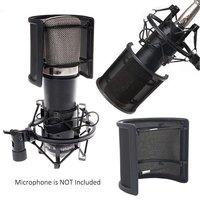 Alctron PF06 Microphone Pop Filter Metal Mesh Foam Layer Mic Cover Handheld Microphone Pop Shield Pop Screen Windscreen Studio