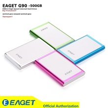 """EAGET G90 500GB Hard Disk HDD 2.5"""" Ultra-thin USB 3.0 High Speed Portable Laptop 500G External Hard Drives Disque Big Promotion"""