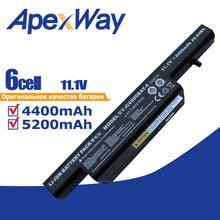 6 Cellen 11.1V Laptop Batterij Voor Clevo C4500 C4500Q C4501 C4505 W150 C4500BAT 6 6 87 C480S 4P4 C4500BAT 6 KB15030 W150ER