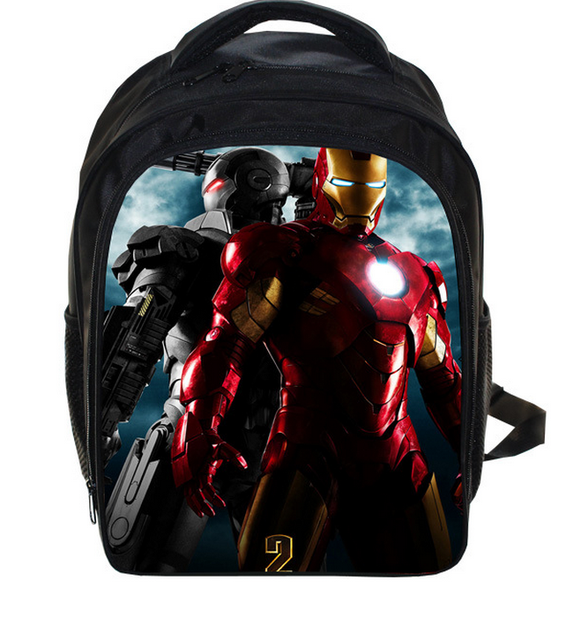 a2c354d15f 13 Inch The Avengers Iron Man School Bags for Kindergarten Children kids  School Backpack for Girls