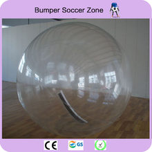 Free Shipping 2.5m 0.8mm PVC Inflatable Water Walking Ball Human Hamster Ball Zorb Ball Plastic Ball Water Balloon(China)
