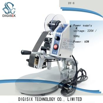 DY-8 presión de la mano de codificación de la máquina de calefacción directa de producción tipo sello de fecha imitación de inyección de tinta de marcado dispositivo