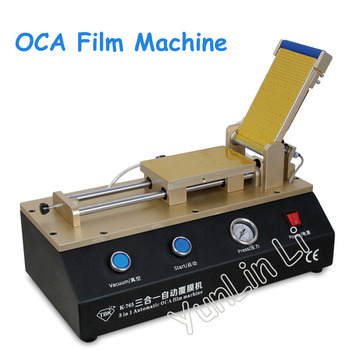 цена на 3 in 1 Automatic OCA Film Laminating Machine Built-in Vacuum Pump and Air Compressor For Mobile Phone LCD Screen Repair