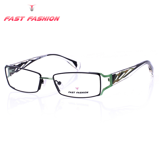 FAST FASHION Brand Design Glasses Frame Women Men Gaming Eyeglasses Frames Fit Clear Myopia Lens Oculos De Grau Feminino FF3004