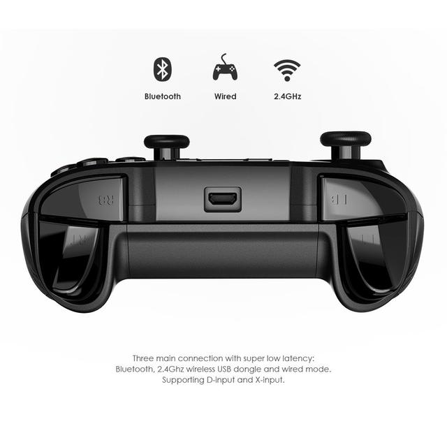 Original GameSir T2a Bluetooth / 2.4G Wireless / wired nes Gamepad Game pubg Controller snes Joystick for pubg Android PC TV BOX