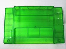5PCS Replacement Game Cartridge For SNES 16bit game card Shell For USA Version Transparent green Game Player