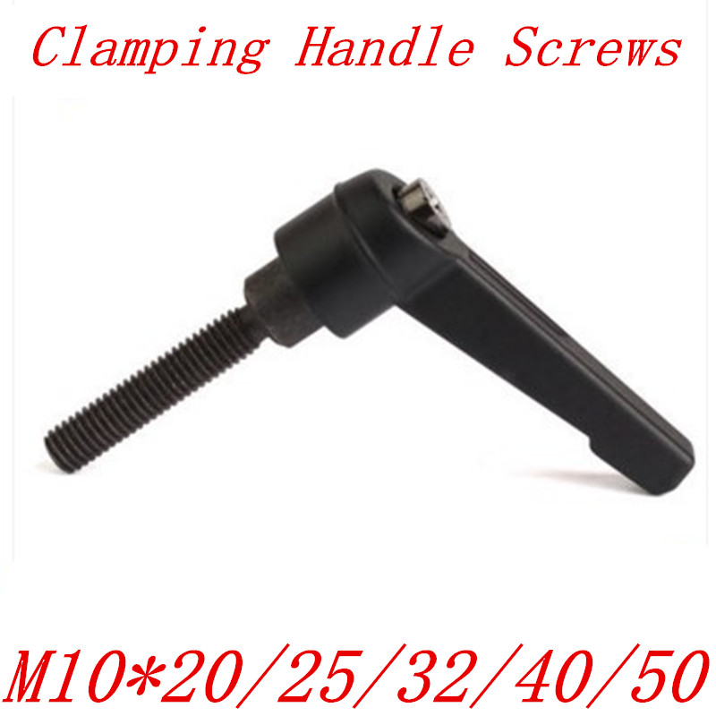 M10 4PCS Adjustable Handle Metal Machine Knobs Adjustable Clamping Lever Stainless Steel M4//5//6//8//10//12 with Female Thread
