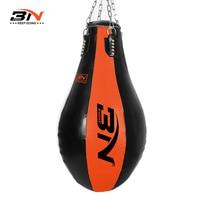 BN GRANT Pear Shaped Boxing Empty Sandbag Warm Sandbag Leather Punching Bag Empty Taekwondo MMA Muay Thai Heavy Bag