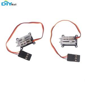Image 1 - 2 cái/lốc Micro 1.5g Tuyến Tính Servo Nhỏ Servo 4.2 6V cho Máy Bay RC DIYmall