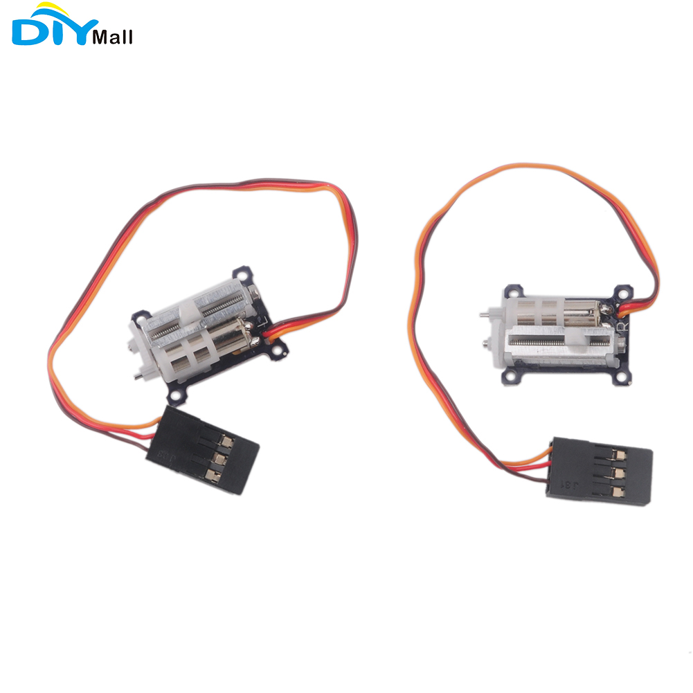 2pcs/lot Micro 1.5g Linear Servo Tiny Servo 4.2-6V For Aircraft RC DIYmall