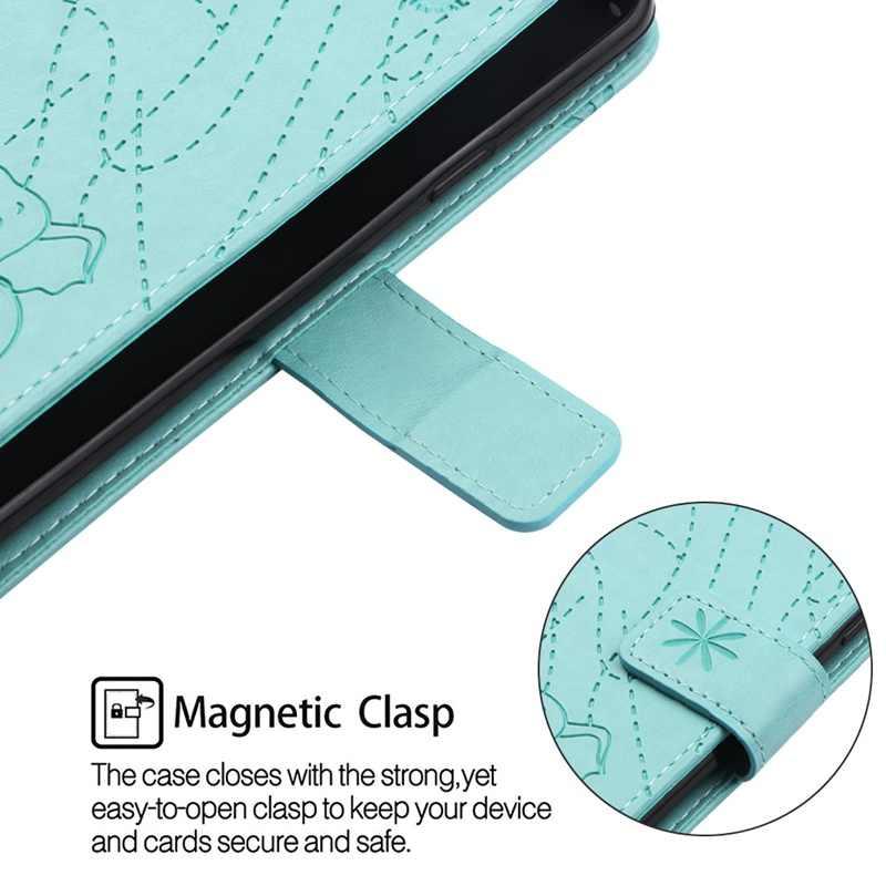 Flip Leather Book Phone Case For LG Stylo 4 Back Cover Case For LG Stylus Funda Fireworks Elephant Texture