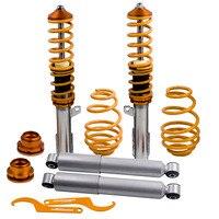 Adjustable Coilover Coil Strut for Opel Astra G (MK4) 1.6 1.7 1.8 2.0 Lowering Suspension Coil Spring Over Shock Absorber