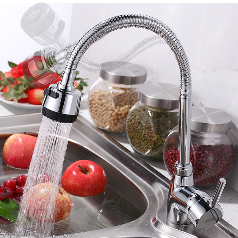 ₪Free Shipping Solid Brass Kitchen Faucet Mixer Cold and Hot Single ...