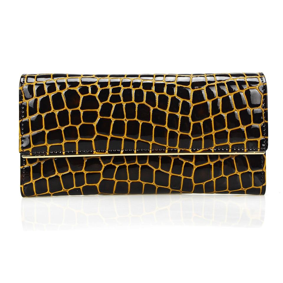 Buy 3 fold genuine leather women stone for Tile fashion 2016