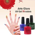 Professional Arte Clavo Choose Any 1 Color UV Top Coat Nail Art Soak Off UV Nail Led Lamp Gel Polish