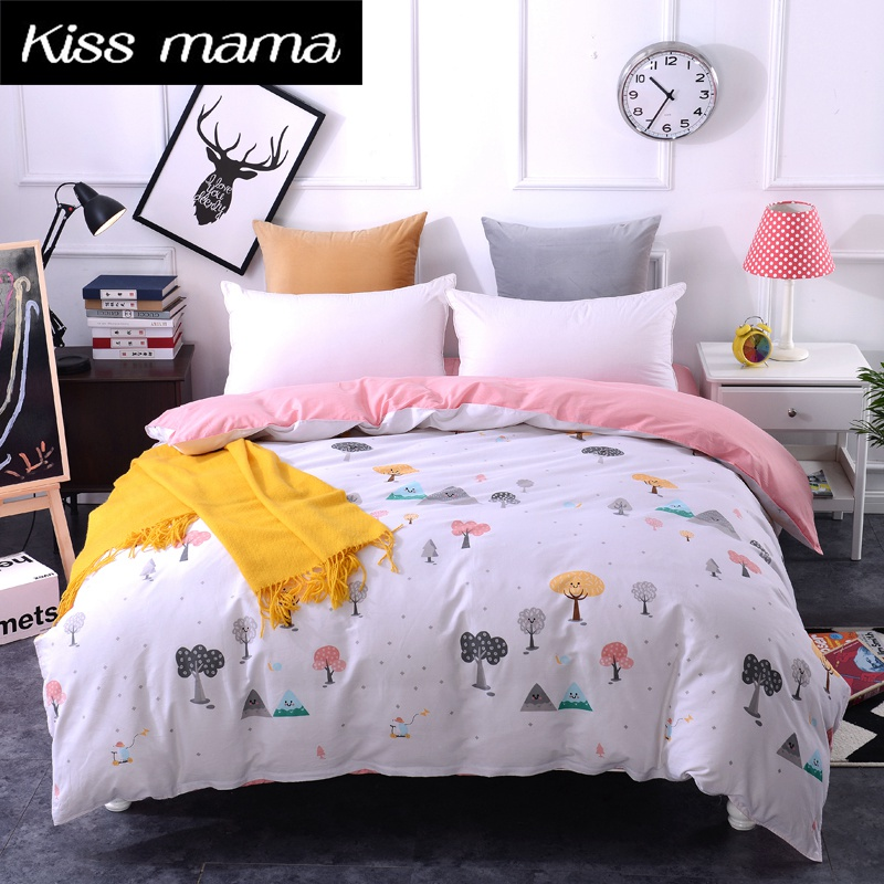 4ed52cb7688 100% Cotton Duvet Cover Customized Size Quilt Cover King Queen Twin Single