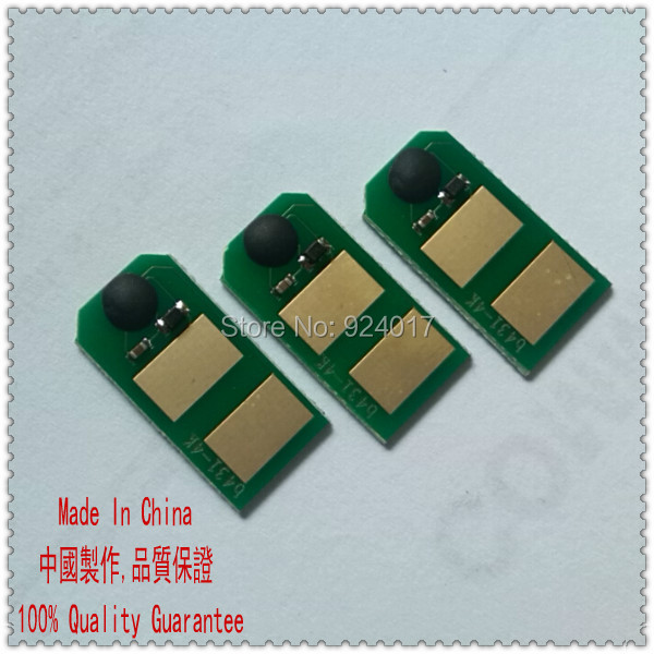 4 x Toner Reset Chip For OKI C610  44315321 44315322 44315323 44315324