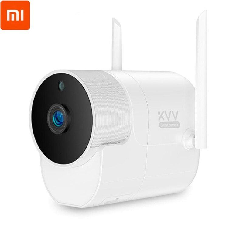 Xiaomi Xiaovv caméra de Surveillance extérieure panoramique caméra 360 1080P sans fil WIFI vision nocturne haute définition avec l'application Mijia