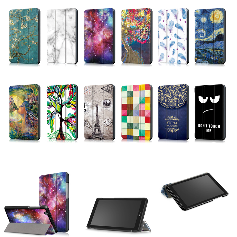 For Huawei MediaPad T3 7 3G BG2 U01 2018 Release New Tablet Printed Case for Huawei