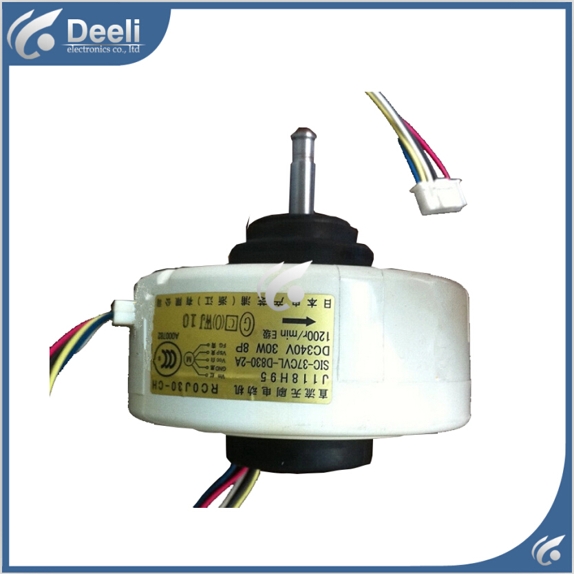 good working for Air conditioner Fan motor machine motor RC0J30-CL RC0J30-CG RC0J30-PC RC0J30-CH J118H95  SIC-37CVL-D830-2A ups ems dhl 95% new good working for air conditioner inner machine motor fan ydk50 8g 3 7 line