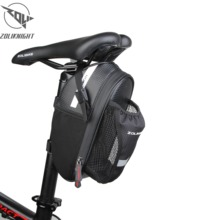 Bicycle Saddle Bag With Water Bottle Pocket PU bag MTB  Waterproof Bike Rear Bags Cycling Rear Seat Tail Bag Bike Accessories цена 2017