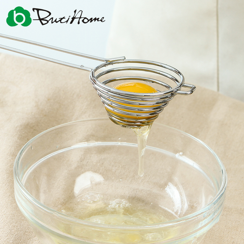 Butihome Kitchen Tools Stainless Steel Egg Tools egg dividers Home Baking Gadgets Kitchen Accessories Kitchen Appliances