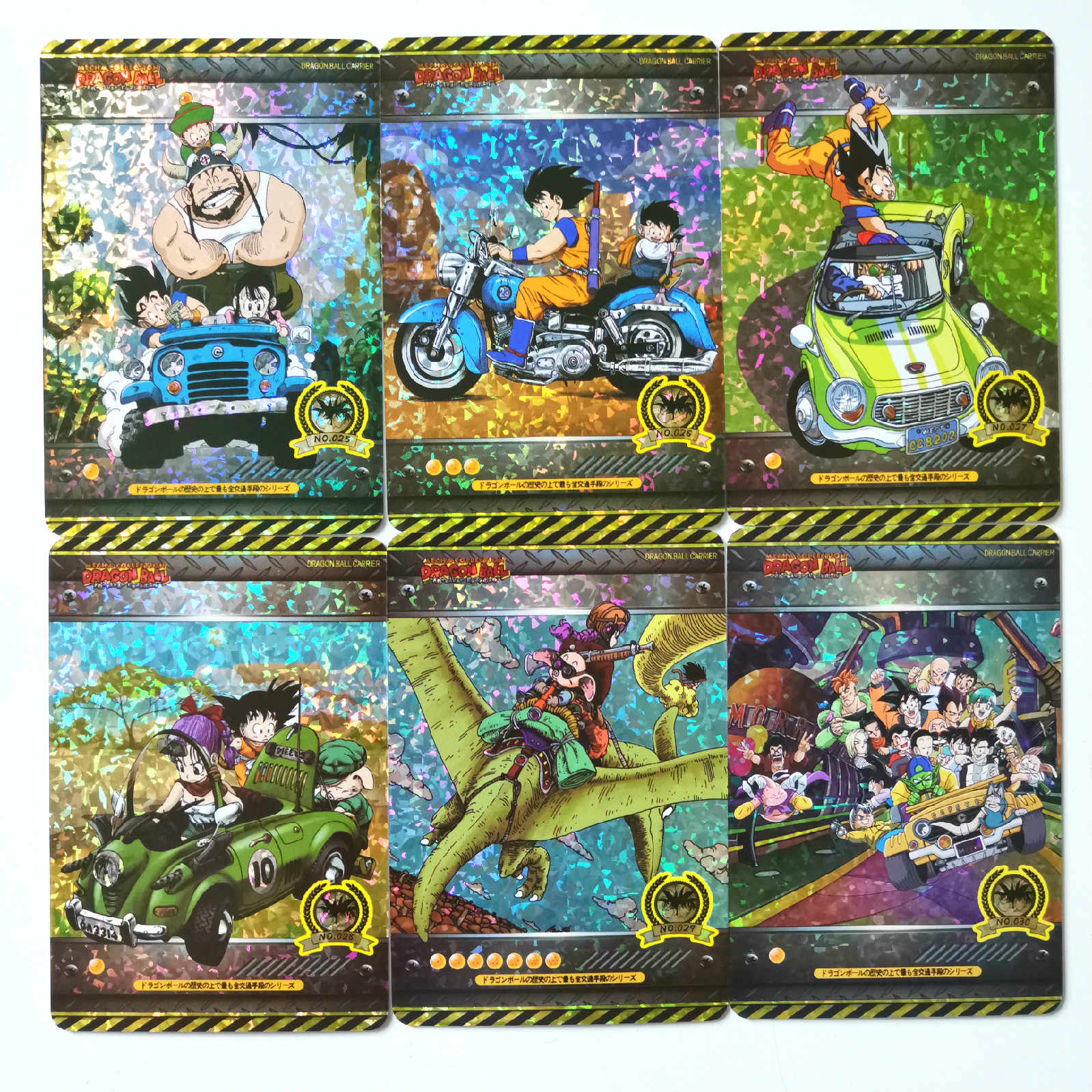 18pcs/set Super Dragon Ball Z Vehicle Heroes Battle Card Ultra Instinct Goku Vegeta Game Collection Cards